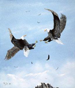 Bob Patterson Art Eagle